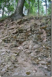 Moselsteig Schweich - Mehring - Felsformation