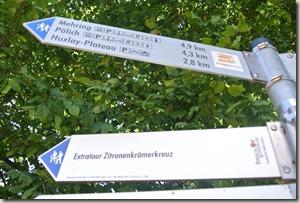 Moselsteig Schweich - Mehring - Wegweiser
