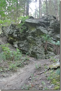 Seitensprung Mehringer Schweiz - Felsen