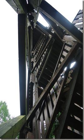 Seitensprung Mehringer Schweiz - Detail des Turms