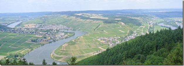 Seitensprung Mehringer Schweiz - Ausblick Fünfseenblick