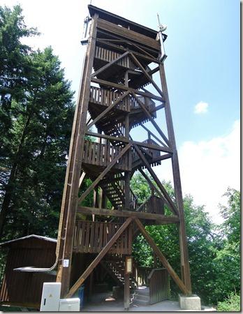 Seitensprung Mehringer Schweiz - Turm des Fünfseenblicks