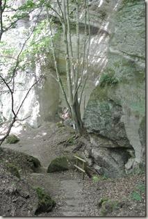 Traumpfad Vier-Berge-Tour - Blick zum Layfelsen