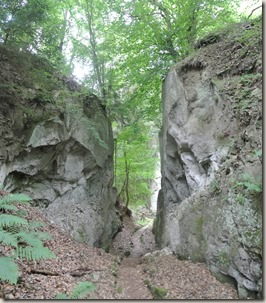 Traumpfad Vier-Berge-Tour - Marxe-Lay, Blick zurück