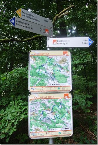 Traumpfad Vier-Berge-Tour - Hinweisschilder Traumpfad