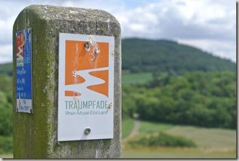 Traumpfad Vier-Berge-Tour - Traumpfad Pfosten