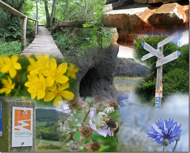 Traumpfad Vier-Berge-Tour - Collage