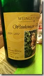 Moselsteig Bernkastel-Kues-Zeltingen - Weingut Derkum (unser Riesling)