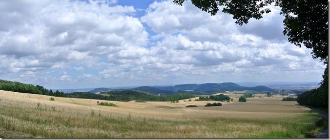 Monatsrückblick Juli 2014 - Wanderpanorama