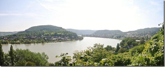 Traumschleife Mittelrhein Klettersteig - Rheinpanorama