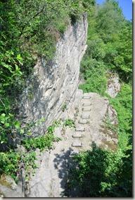 Traumschleife Mittelrhein Klettersteig - jetzt wird es knifflig