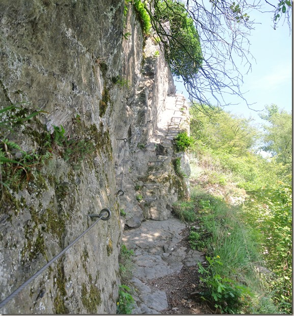 Traumschleife Mittelrhein Klettersteig - Großansicht