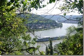 Traumschleife Mittelrhein Klettersteig - Blick auf den Rhein