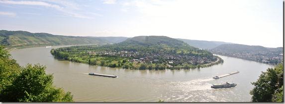 Traumschleife Mittelrhein Klettersteig - Panorama