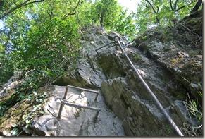 Traumschleife Mittelrhein Klettersteig - bisschen wirr