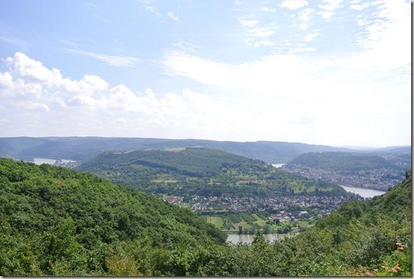 Traumschleife Mittelrhein Klettersteig - Vierseenblick