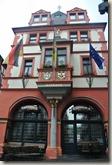 Moselsteig Bernkastel-Kues-Zeltingen - altes Rathaus in Bernkastel