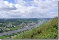 Moselsteig Bernkastel-Kues-Zeltingen - Blick nach Ürzig