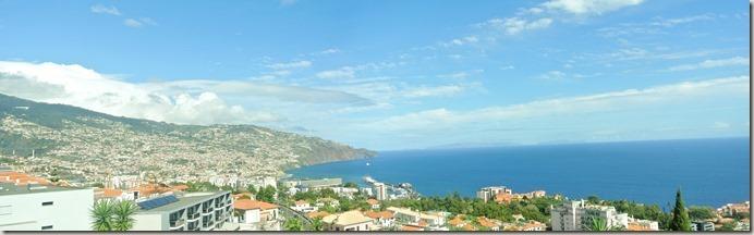 Madeira Wanderung - 25 Quellen - Hotelausblick