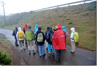 Madeira Wanderung - 25 Quellen - Regensachen raus