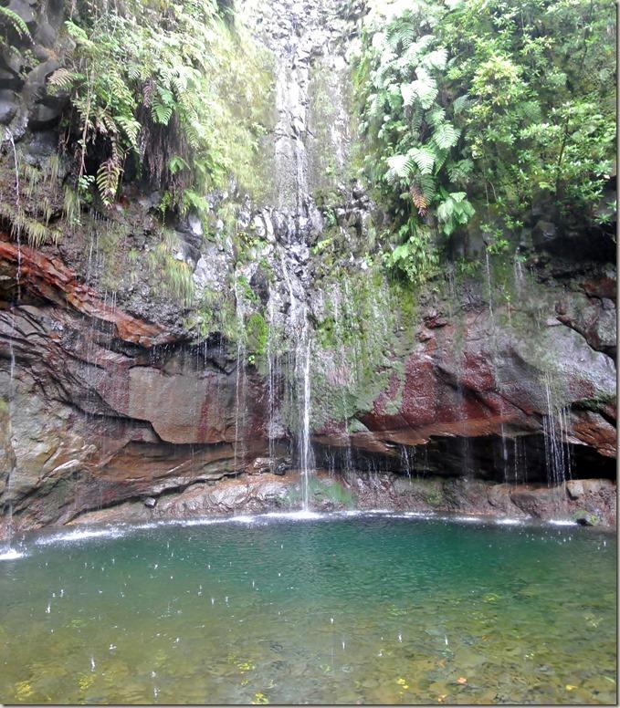 Madeira Wanderung - 25 Quellen - die Quellen