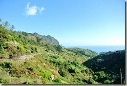 Madeira Wanderung - Blick über das Tal