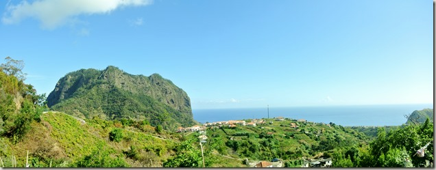 Madeira Wanderung - Panorama mit Adlerfels