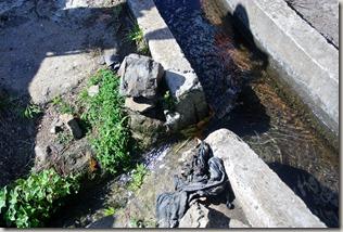 Madeira Wanderung - Levada: Wasserentnahme