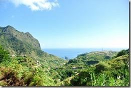 Madeira Wanderung - Blick aus Meer