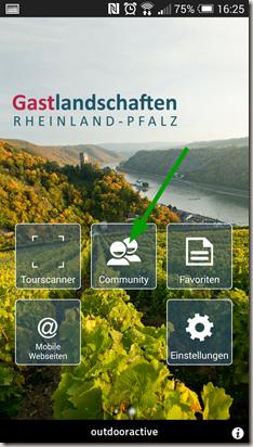 Rheinland-Pfalz Touren App - Community Aufruf