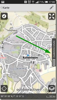 Rheinland-Pfalz Touren App - neue Kartenansicht