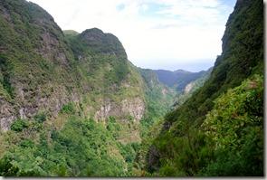 Madeira Wanderung Caldeirao Verde - auf dem Rückweg