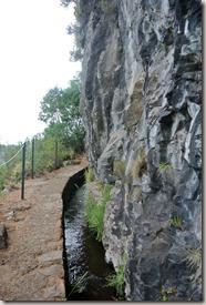 Madeira Wanderung Caldeirao Verde - nackter Fels