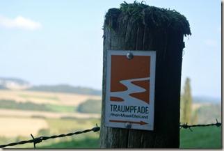Traumpfad Booser Doppelmaartour - Traumpfad-Wegweiser