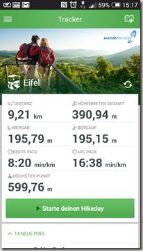 MAPtoHIKE - Wanderung in der Eifel