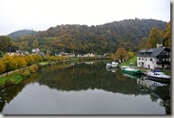 Lahnwanderweg: Etappe Diez-Balduinstein - die Lahn bei Balduinstein