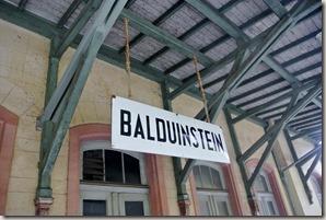 Lahnwanderweg: Etappe Diez-Balduinstein - Bahnhof Balduinstein