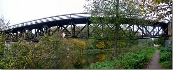 Lahnwanderweg: Etappe Diez-Balduinstein - Brücke über die Lahn
