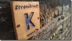 Keramikroute Königfeld - Wegweiser