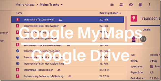 Google MyMaps in Drive -Teaser