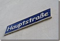 Keramikroute Königfeld - Straßenschild