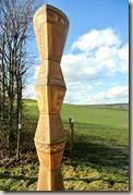 Keramikroute Königfeld - Stele