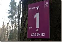 Traumschleife Lücknerweg - Kilometer eins
