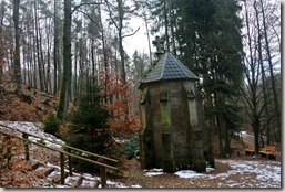 Traumschleife Lücknerweg - Odilienkapelle von hinten