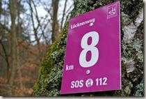 Traumschleife Lücknerweg - Kilometer 8 bei Oppen