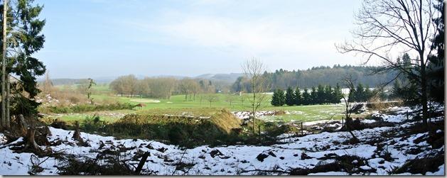Traumschleife Lücknerweg - Golfplatz