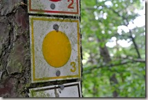 Bürresheimer Weg - Wegemarkierung
