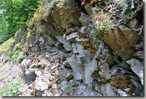Bürresheimer Weg - Felsen am Wegesrand