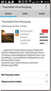 Traumpfade App - Wegebeschreibung neu