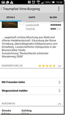 Traumpfade App - Wegebeschreibung neu 1